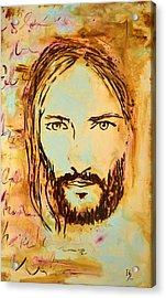 God Loves You   Acrylic Print by Ivan Guaderrama