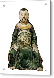 God Of The North. Chinese Art. Ming Acrylic Print by Everett