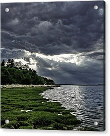God Rays Acrylic Print by Keith Woodbury