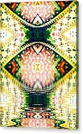 Go'd Tears Acrylic Print by Candee Lucas