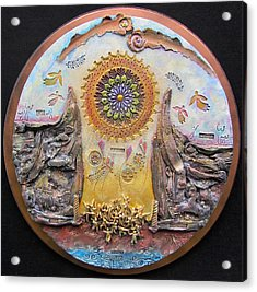 God Will Make A Way Acrylic Print by Gary Wilson