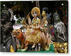 Goddess Durga Acrylic Print by Gregory Smith