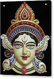 Goddess Durga Acrylic Print by Sayali Mahajan