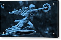 Acrylic Print featuring the photograph Goddess Hood Ornament  by Patrice Zinck
