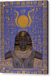 Goddess Isis Acrylic Print by Diana Perfect