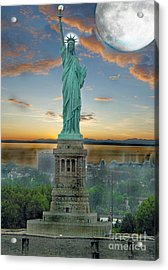 Goddess Of Freedom Acrylic Print by Gary Keesler