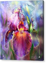 Goddess Of Healing Acrylic Print by Carol Cavalaris