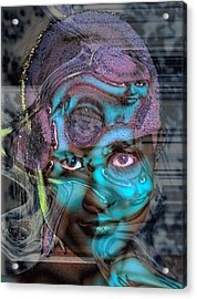 Acrylic Print featuring the photograph Goddess Of Love And Confusion by Richard Thomas