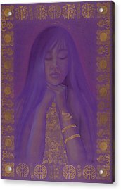 Goddess Of Regeneration Acrylic Print by Diana Perfect