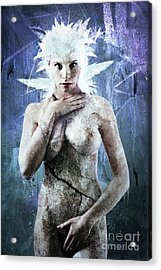 Goddess Of Water Acrylic Print by Michael Volpicelli