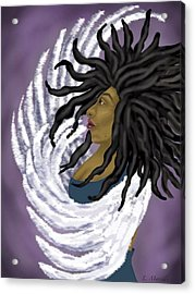 Goddess Rising Acrylic Print by Linda Marcille