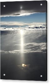 Godrays Over The Lake Acrylic Print by Alex Sukonkin