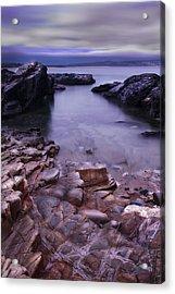 Godrevy Rocks 2 Acrylic Print by Debra Jayne