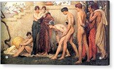 Gods At Play Acrylic Print by William Blake Richmond