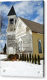 God's House Acrylic Print by Cheryl Cencich
