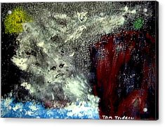 Gods Of The Grecian Storm Acrylic Print by Tommi Trudeau