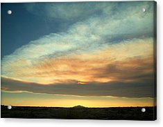 God's Pastels.. Acrylic Print by Al  Swasey
