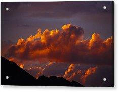 God's Sunset Cloud Acrylic Print