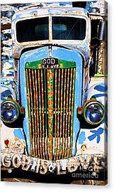 Gods Truck Acrylic Print
