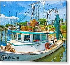 God's Will Acrylic Print