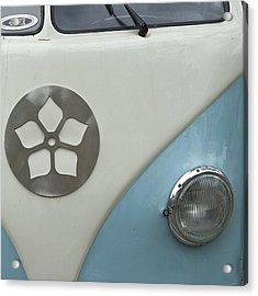 Going #abstract If Only A Little  #vw Acrylic Print