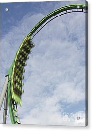 Going Green Acrylic Print by James Knights