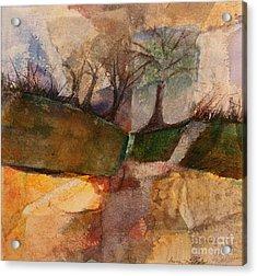 Going Home Acrylic Print by Gwen Nichols