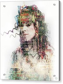 Going Out In The Words Acrylic Print by Gun Legler