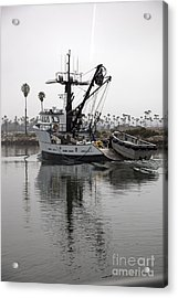 Going To Work Acrylic Print by Amanda Barcon