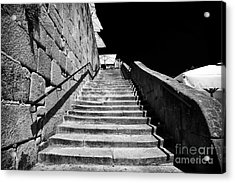 Going Up In Porto Acrylic Print by John Rizzuto