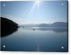 Acrylic Print featuring the photograph Gokova Bay  by Tracey Harrington-Simpson