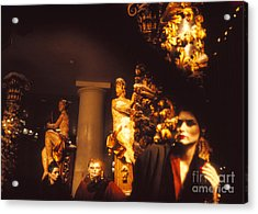 Acrylic Print featuring the photograph Gold Mars by Steven Macanka