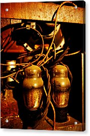 Golden Age Of Wireless Acrylic Print by Richard Reeve