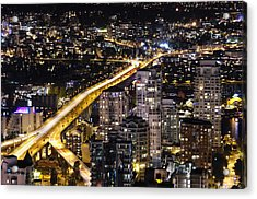 Acrylic Print featuring the photograph Golden Artery - Mcdxxviii By Amyn Nasser by Amyn Nasser