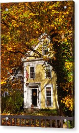 Golden Colonial Acrylic Print