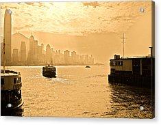 Golden Day Acrylic Print by Richard WAN