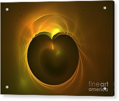 Golden Delicious Acrylic Print by Kim Sy Ok