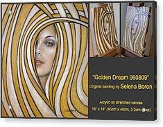 Golden Dream 060809 Comp Acrylic Print