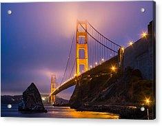 Golden Gate Beauty Acrylic Print