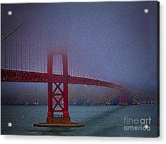 Golden Gate Bridge  ... Acrylic Print by Chuck Caramella