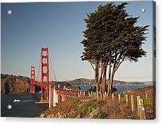 Acrylic Print featuring the photograph Golden Gate Bridge 1 by Lee Kirchhevel