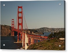Acrylic Print featuring the photograph Golden Gate Bridge 2 by Lee Kirchhevel