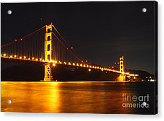 Golden Gate Bridge 2 Acrylic Print by Theresa Ramos-DuVon