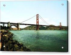 Golden Gate Bridge 2.0 Acrylic Print