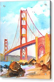 Golden Gate Bridge 3 Acrylic Print