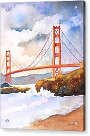 Golden Gate Bridge 4 Acrylic Print