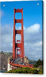Golden Gate Bridge Acrylic Print by Adam Romanowicz
