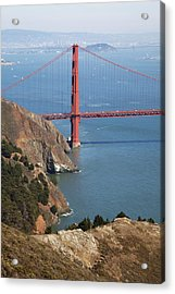 Golden Gate Bridge II Acrylic Print by Jenna Szerlag