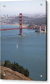 Golden Gate Bridge Acrylic Print by Jenna Szerlag