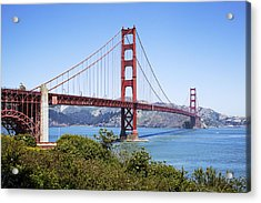 Golden Gate Bridge Acrylic Print by Kelley King
